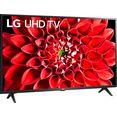 """lg led-tv 43un73006lc, 108 cm - 43 """", 4k ultra hd, smart-tv, hdr10 pro, google assistant, alexa, airplay 2, magic remote-afstandsbediening zwart"""