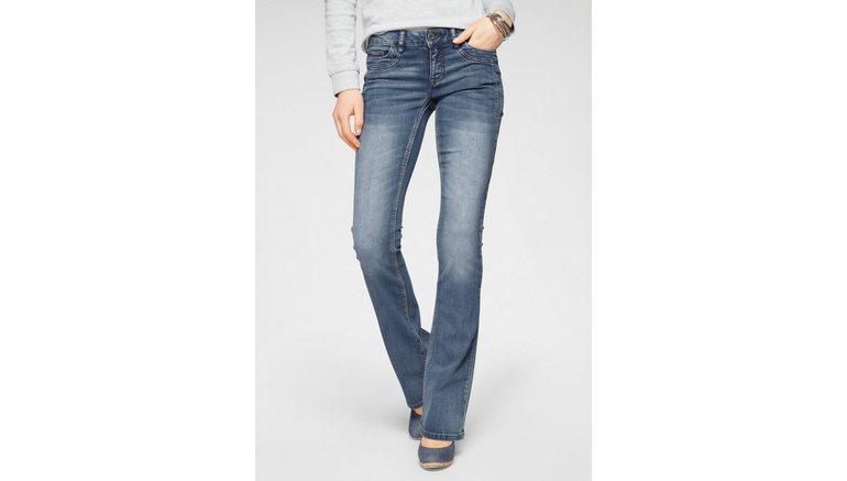 Arizona bootcut jeans Met geren Low Waist