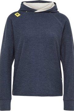 g-star raw sweatshirt »hooded tweater« blauw