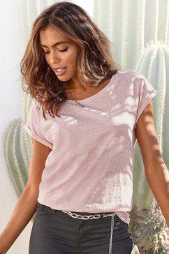 vivance t-shirt roze
