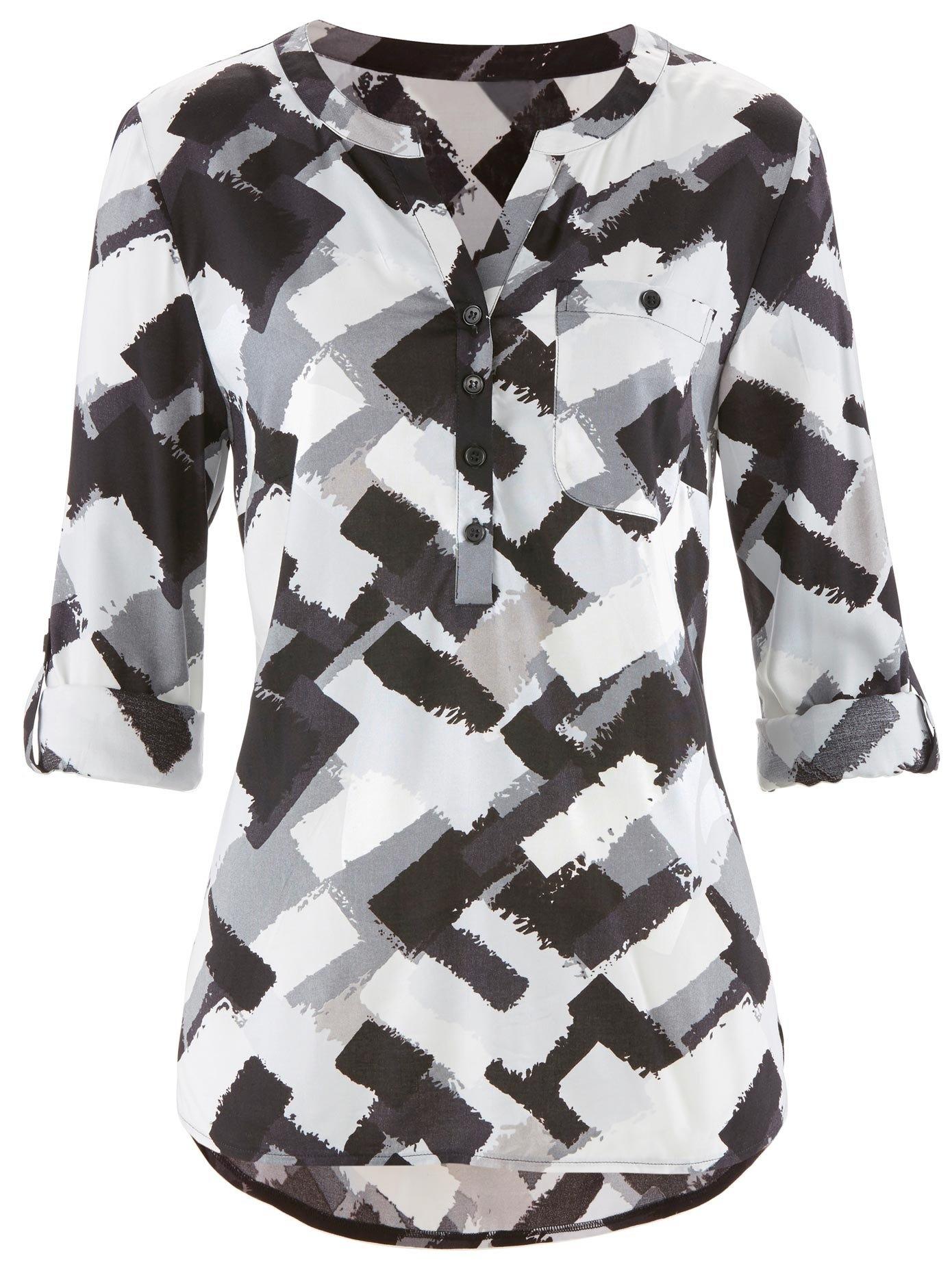creation L création L lange blouse met een korte knoopsluiting nu online kopen bij OTTO