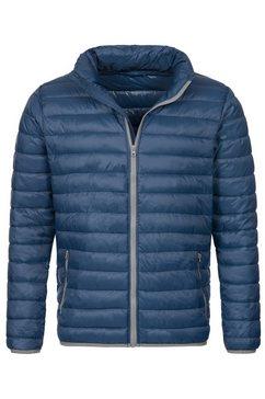 stedman gewatteerde jas outdoor padded met een capuchon (1 stuk) blauw