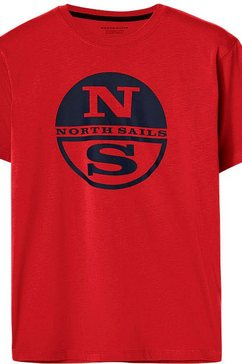 north sails t-shirt rood