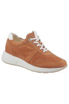ganter sneakers giselle met kurken voetbed bruin