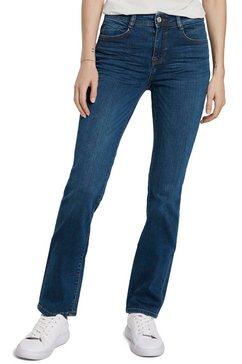 tom tailor straight jeans alexa in 5-pocketsstijl blauw