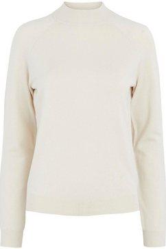 pieces trui met staande kraag »pcesera« beige