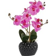 leonique kunstplant orchidee (1 stuk) paars