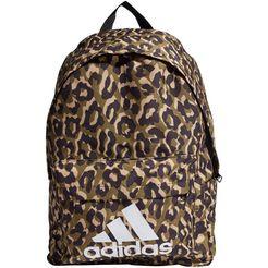 adidas performance sportrugzak bos backpack leopard bruin
