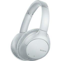 sony over-ear-hoofdtelefoon wh-ch710n draadloze noise cancelling wit