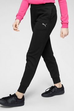 puma joggingbroek »sweat pants fleece girls« zwart