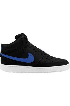 nike sneakers »court vision mid« zwart
