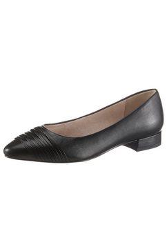 tamaris ballerina's »caterina« zwart
