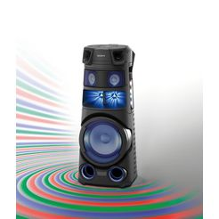 sony party-luidspreker mhc-v83d zwart