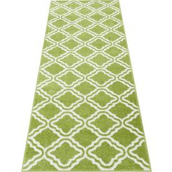 loper, my home, »debora«, geweven groen