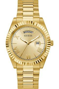 guess kwartshorloge connoisseur, gw0265g2 goud
