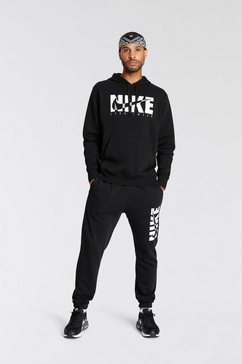 nike sportswear joggingpak mens tracksuit zwart