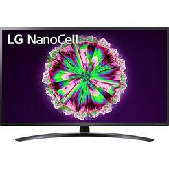 lg »50nano796ne« led-tv zwart