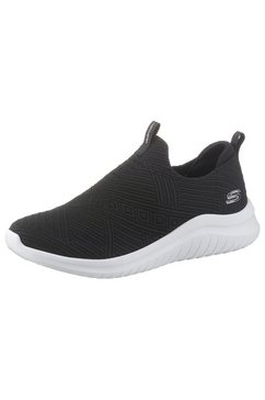 skechers slip-on sneakers »ultra flex 2.0« zwart