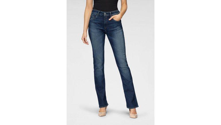 Herrlicher bootcut jeans SUPER G BOOT ORGANIC milieuvriendelijk dankzij kitotex technology