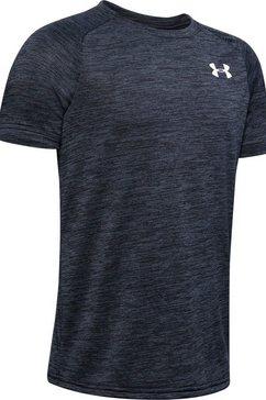 under armour functioneel shirt »tech 2.0 shortsleeve« zwart