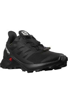 salomon runningschoenen supercross 3 gore-tex w waterdicht zwart