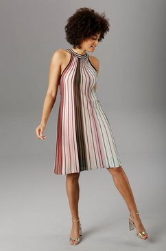 aniston selected party-jurk roze