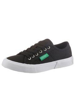 united colors of benetton sneakers met merk zwart