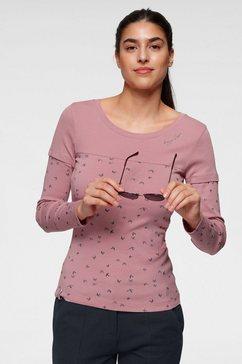 kangaroos 2-in-1-shirt met lange mouwen roze