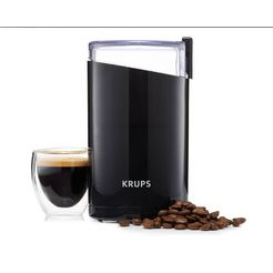 krups »f20342« koffiemolen zwart