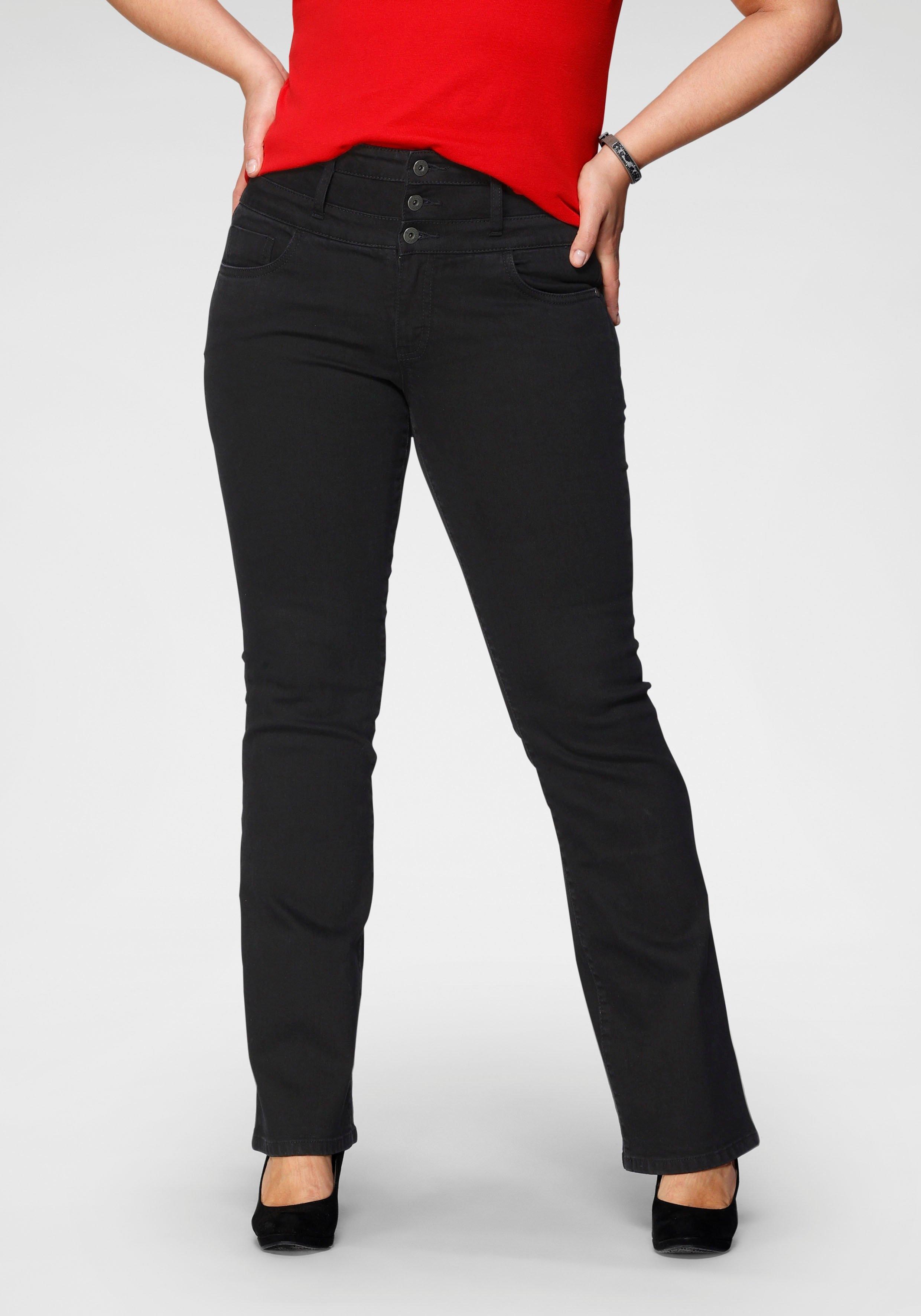 Arizona bootcut jeans »mit extrabreitem Bund« bij OTTO online kopen