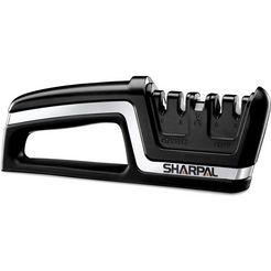 sharpal »professional knife scissors sharpener - asia« messenslijper zwart