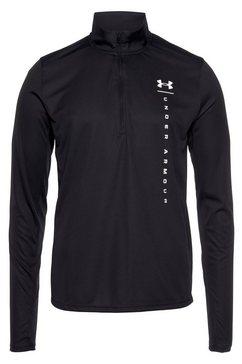 under armour runningshirt ua speed stride shock half zip zwart
