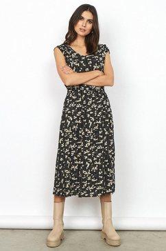 soyaconcept gedessineerde jurk »sc-ohio4« zwart
