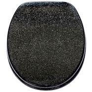 sanilo toiletzitting glitters zwart