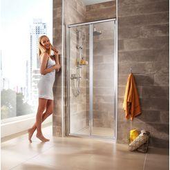nisdeur »vigo«, deur van de douche 90 cm zilver