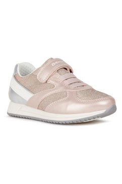 geox kids sneakers jense girl met een uitneembare binnenzool roze