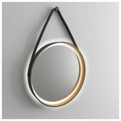 talos badspiegel »golden summer« zwart