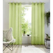 gordijn, »xana«, my home, ringen per stuk groen