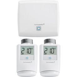 homematic ip smart-home starterset verwarmen (3-delig) (set) wit