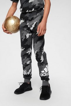 adidas performance joggingbroek »young boy must have batch of sport pants« grijs