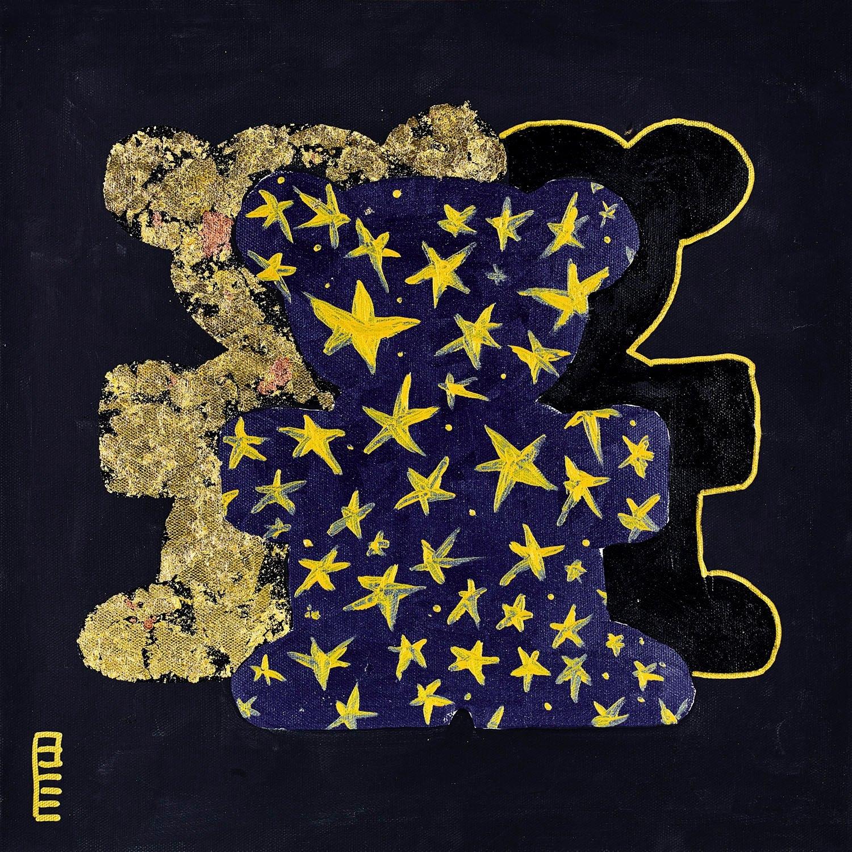 queence artprint op linnen »Bears IV« voordelig en veilig online kopen
