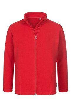 stedman fleece jacket kids active fleecejack »met uitstekende warmte-isolatie« rood
