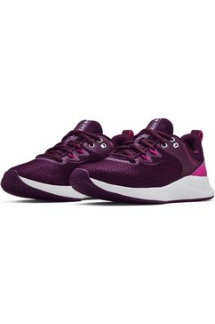 under armour trainingsschoenen w charged breathe tr 3 roze