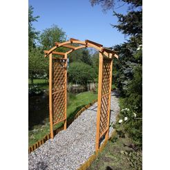 houten prieelboog »pergola diana«, bxdxh: 132x70x206 cm