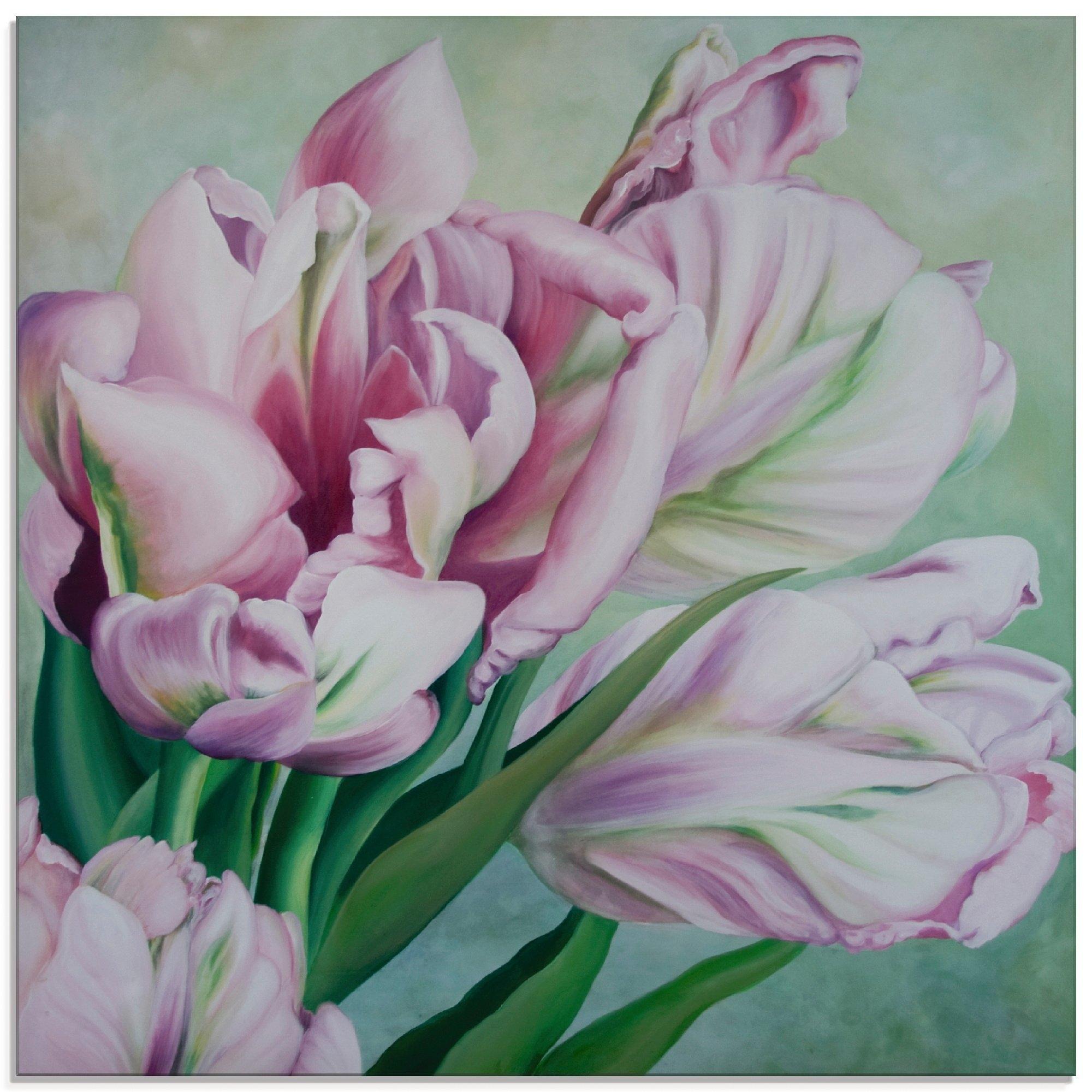 Artland print op glas Tulpen (1 stuk) voordelig en veilig online kopen