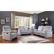 atlantic home collection 2-zitsbank stefan relaxfunctie (1x; van voren gezien links; handmatig) grijs