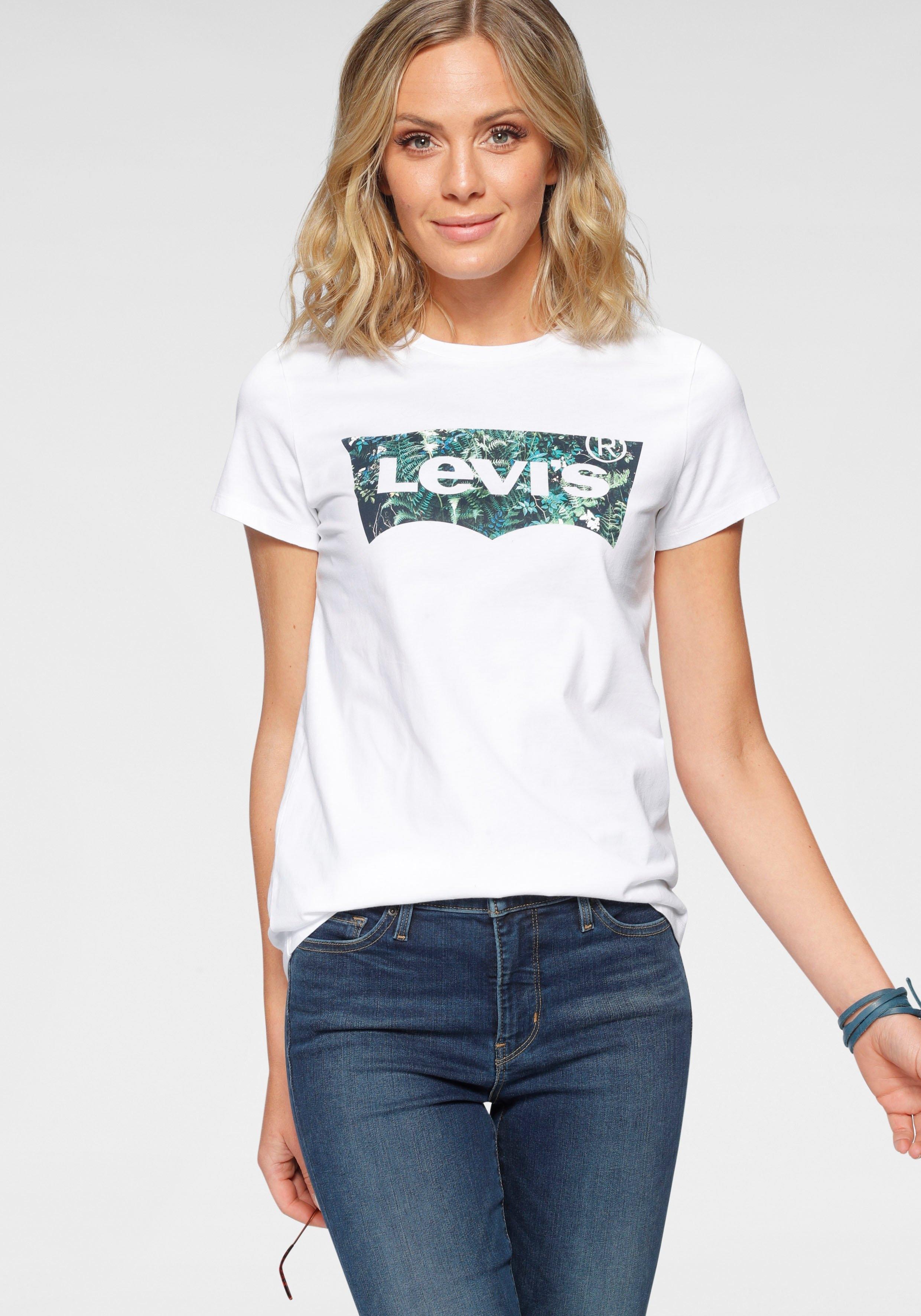 Levi's T-shirt The Perfect Teee met logoprint bestellen: 30 dagen bedenktijd
