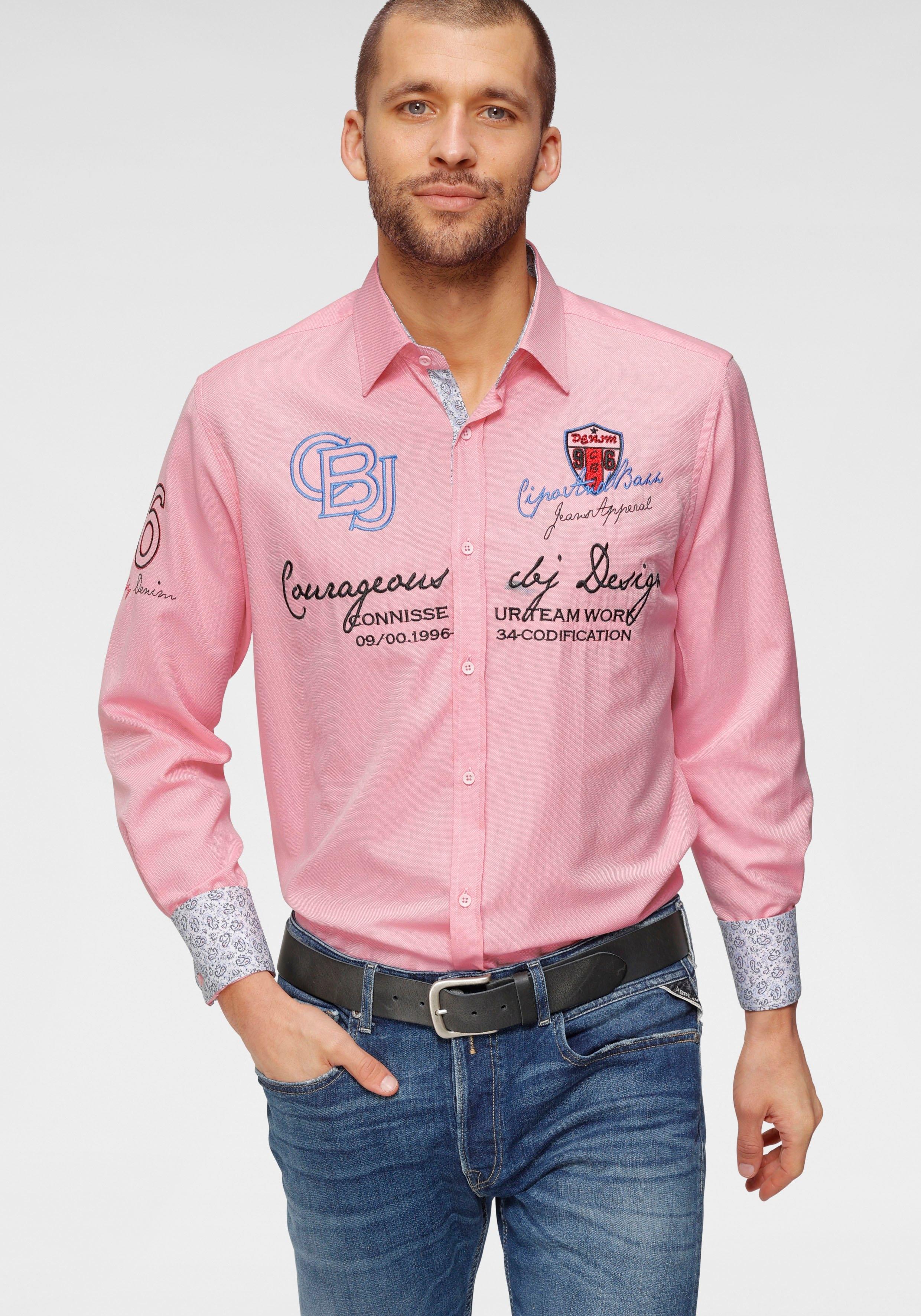 Op zoek naar een Cipo & Baxx overhemd met lange mouwen? Koop online bij OTTO