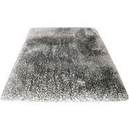hoogpolig vloerkleed, »lasse«, leonique, rechthoekig, hoogte 78 mm, handgetuft grijs