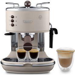 de'longhi filterapparaat ecov 311.bg, ook voor koffiepads geschikt beige